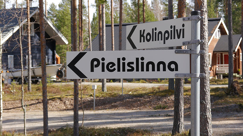 Linna and Pilvi Sign